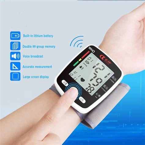CK W355 Wrist Blood Pressure Monitor Tonometer LCD Digital