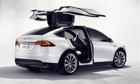 Tesla Model X Revealed As Tesla's First Electric Suv
