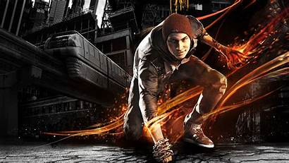 Infamous Son Second Delsin Rowe Smoke Wallpapers