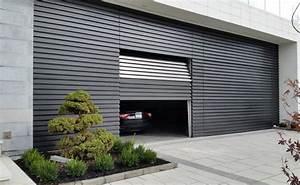 portes de garage en acier garaga chi portes bourassa With porte garage acier