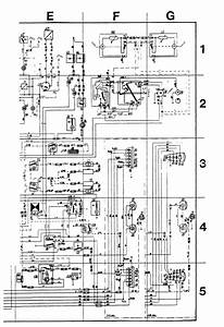 Volvo 244  1989  - Wiring Diagrams - Instrumentation