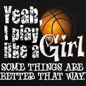 Play Like a Girl - Basketball Women's Dark T-Shirt | All ...