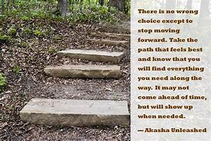 Choose The Path That Feels Best  And Above All  Keep