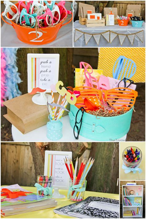adorable quot chapter 2 quot book themed birthday pizzazzerie 404 | book themed party 4