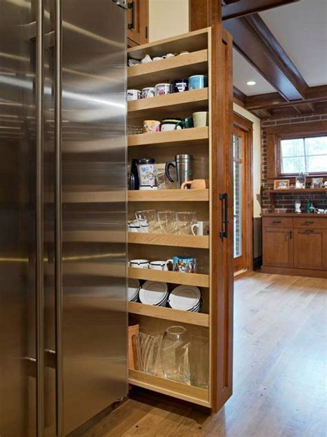 Kitchen Pantry Roll Out With Wheels by Best 25 Pull Out Pantry Ideas On Kitchen