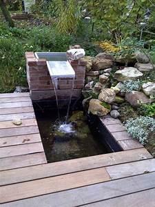 Bassin De Terrasse : bassin int gr sur terrasse bois page 2 ~ Premium-room.com Idées de Décoration