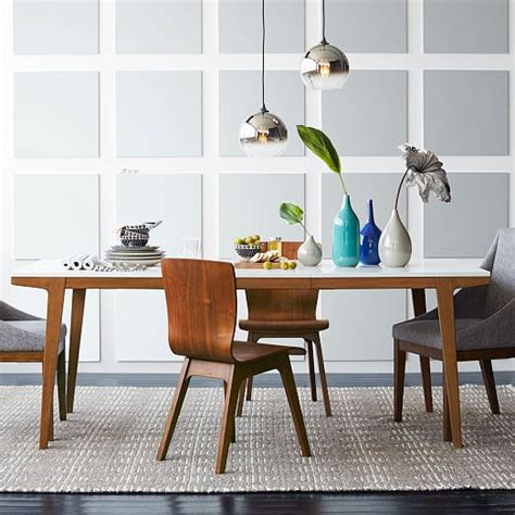 West Elm Dining Room Tables by Modern Expandable Dining Table West Elm
