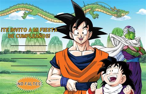 Un cumple de Dragon Ball Z ¡Kame Hame Ha!   Tips de Madre®