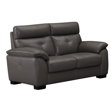 zamora  seater hl grey  leather sofa set sofa