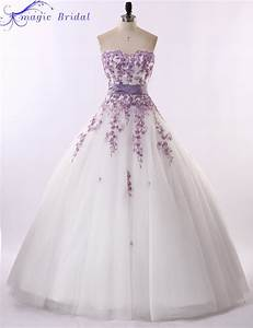 Vestido de noiva renda 2015 vintage strapless purple lace for Wedding dress with purple lace