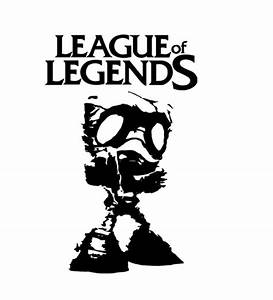 League Of Legends Logo Black And White | www.pixshark.com ...