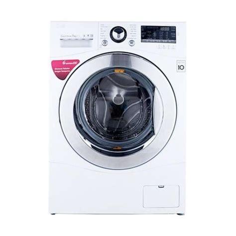 mesin cuci lg 1 tabung 7 kg lg f1007nppw mesin cuci front loading 7kg didik elektronik