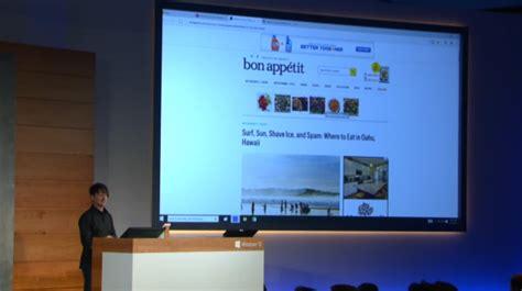 microsoft finally announces spartan browser  windows
