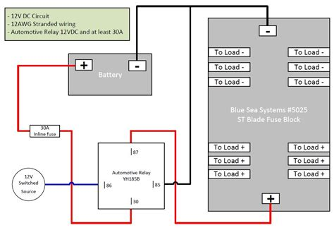 dc fuse block wiring diagram trusted wiring diagrams