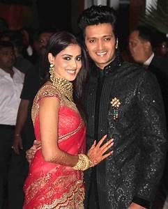 TamiL MoviE RoaminG: Ritesh & Genelia Wedding Reception ...