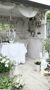 Gartenhaus Shabby Chic : shabby chic shabs pinterest gartenh user g rten und kleine wohnung ~ Markanthonyermac.com Haus und Dekorationen