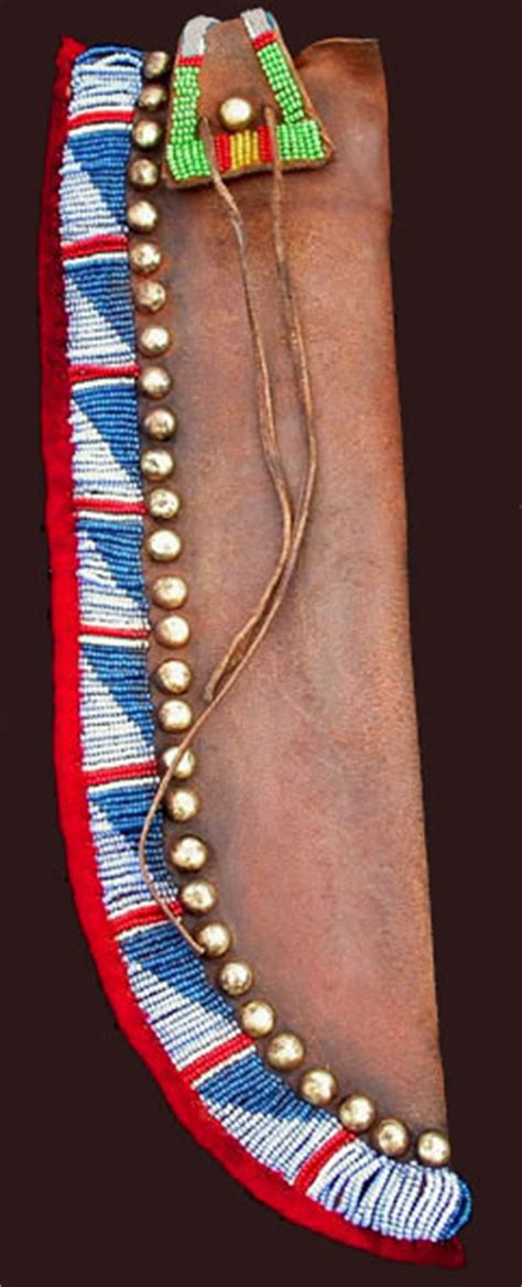 knife sheaths blackfeet plains sioux cheyenne arapaho