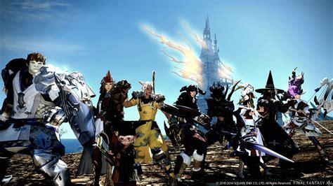 Permalink to Final Fantasy Online Wallpaper