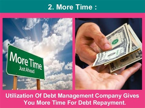 debt management company hiring benefits