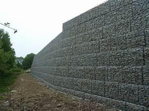 Mur De Soutenement En Gabion : photos tp afficher le sujet gabions mur de sout nement ~ Melissatoandfro.com Idées de Décoration