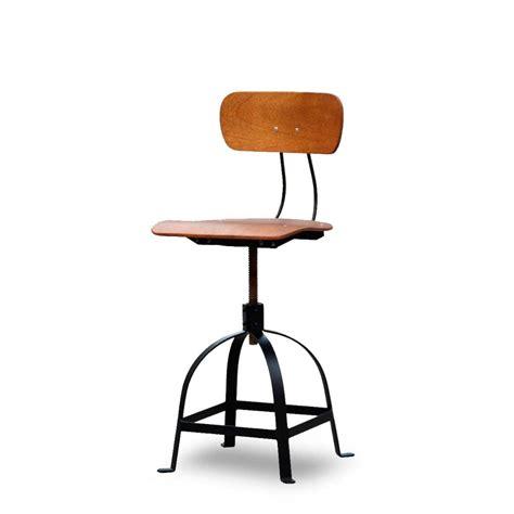 chaise de bureau industriel chaise architecte style industriel jb pennel drawer