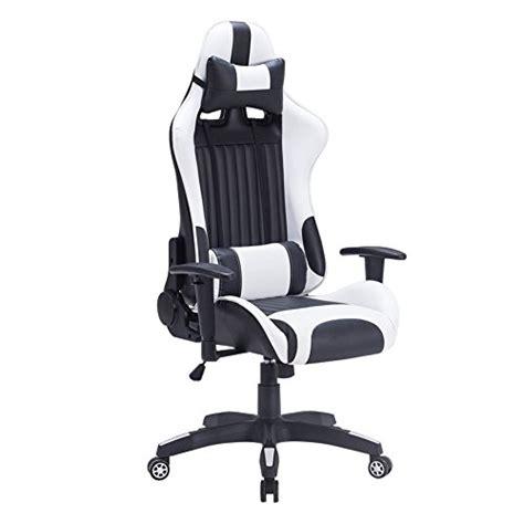 siege baquet pliable iwmh racing chaise de bureau siège gaming de luxe fauteuil