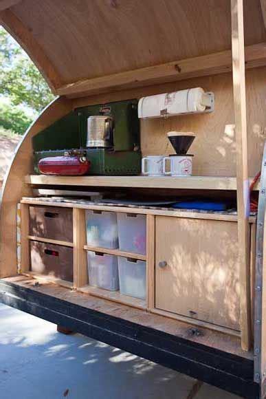 teardrop kitchen   lines   idea teardrop camper ideas  designs