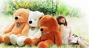 200 Cm Teddy : 2019 new arrival 200 cm giant teddy bear stuffed toy soft plush toy valentine 39 s gift for girls ~ Frokenaadalensverden.com Haus und Dekorationen