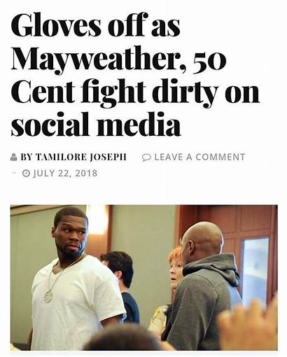 Mayweather Floyd Cent Rapper Social Former Rover