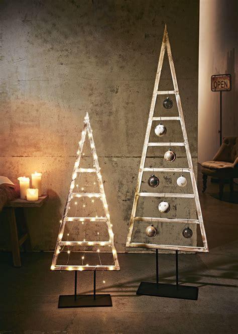Deko Baum Metall Weihnachten holz deko baum