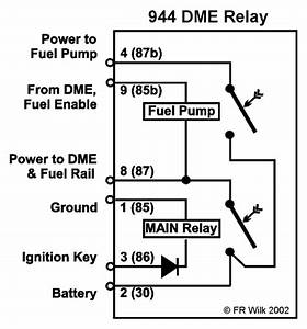 Porsche 944 Dme Relay Wiring Diagram
