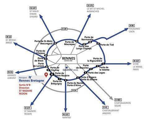 plan d acc 232 s a 233 roport rennes bretagne