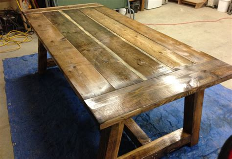 how to build a rustic table wood cedar rustic table plans pdf plans
