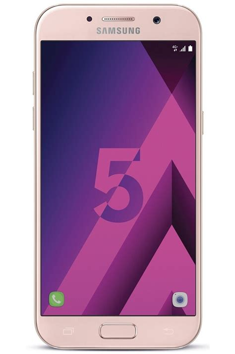 telephone portable samsung smartphone samsung galaxy a5 2017 4287339 darty