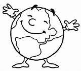 Coloring Globe Pages Preschool Printable Earth Clipartmag sketch template
