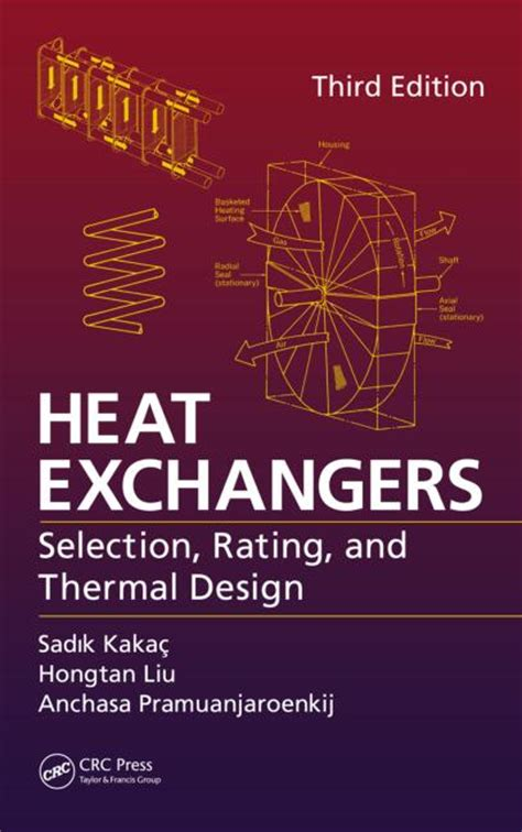 heat exchangers selection rating  thermal design