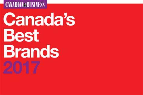 Canada's Best Brands 2017 The Top 25
