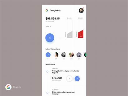 Google Pay Concept Redesign Ux Dribbble App