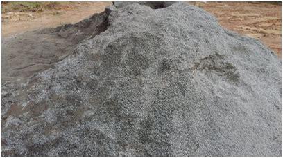 concrete  waste asbestos sheet