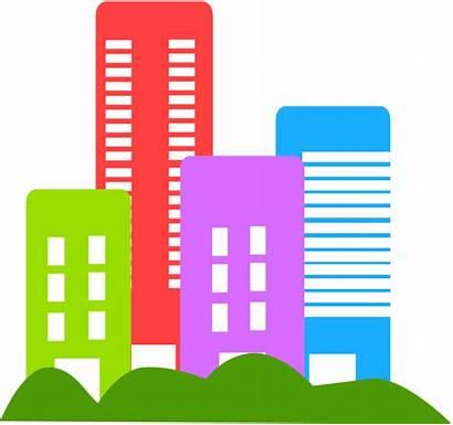Estate Clip Clipart Investors Buildings