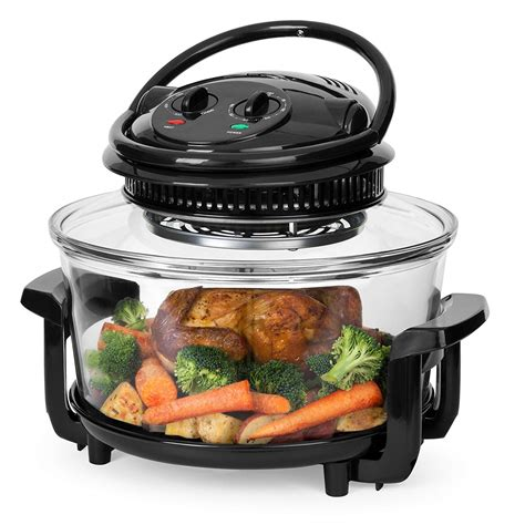 air fryer oven convection 12l choice electric multi oil roast capacity grill furnace steam heat countertop function dial cooking racks