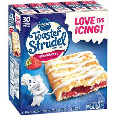 toaster struddles pillsbury toaster strudel strawberry toaster pastries 11