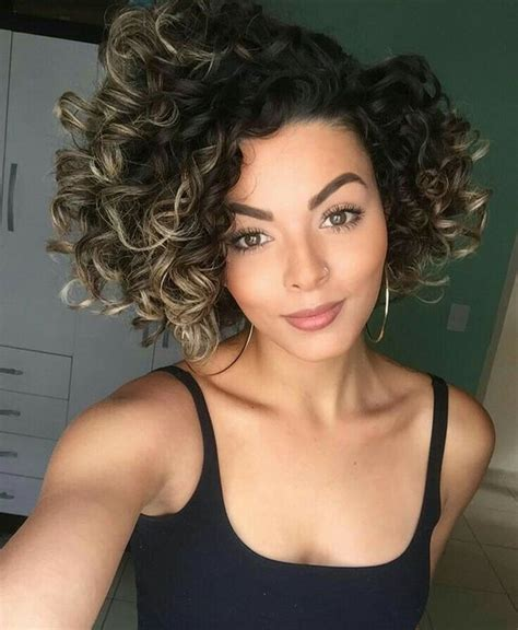 spiral curls  african american  thick hair short