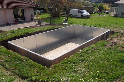 piscine hors sol acier enterree piscine acier galvanis 233 enterr 233 e pas cher piscine discount