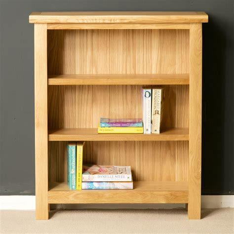 Small Low Bookcase by Oak Small Bookcase Light Oak Low Bookcase Solid