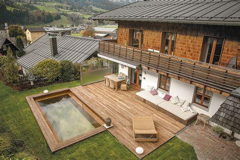Swimmingpool Aus Holz by Holc Naturpool Swimmingpool Aus Holz Einbauen
