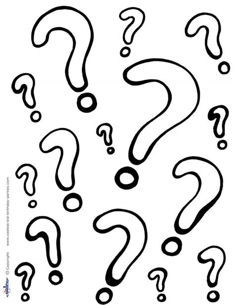 questions coloring page    passover