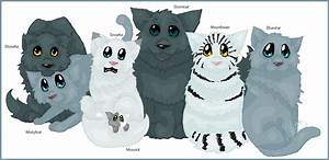The gallery for --> Warrior Cats Graystripe And Millie Kits