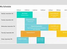 Responsive Timetable Horizontal Addon by RikdeVos
