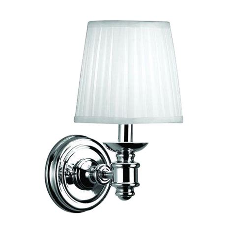 Kitchen Blinds And Shades Ideas - hton bay nadia 1 light chrome wall sconce 15559 026 the home depot